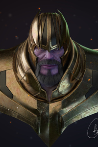 Thanos 4k New Artwork 2019