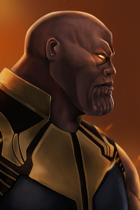 Thanos 4k New Artwork