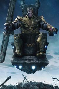 Thanos 4k Newart