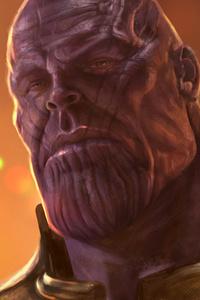 Thanos 5k Artwork