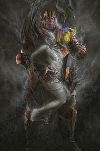 1080x1920 Thanos And Death