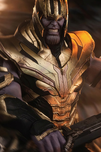 Thanos Angry 4k