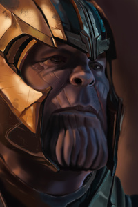Thanos Art 4k