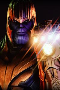 Thanos Artwork 2018