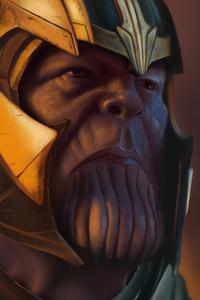 Thanos Avengers Endgame 4k