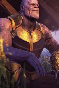 Thanos Avengers EndGame 8k