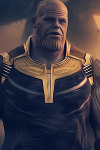 Thanos Avengers Infinity War 2018 4k Artwork