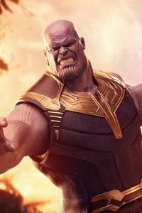 Thanos Avengers Infinity War 5k