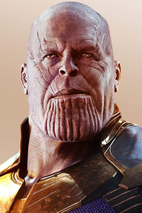 1242x2688 Thanos Avengers Infinity War HD