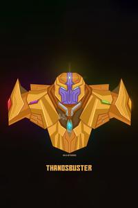 1125x2436 Thanos Buster Minimal 5k