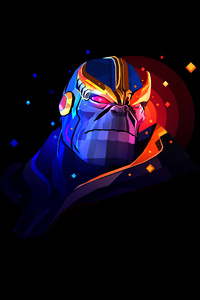 Thanos By Justin Maller 4k