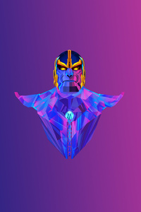 Thanos Colorful Minimalism