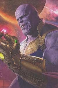 800x1280 Thanos Concept Art