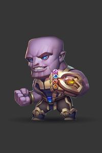Thanos Cute Art