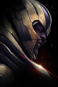 Thanos Dark 4k