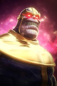 750x1334 Thanos Fan Artwork