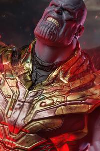320x568 Thanos Feel My Power 4k