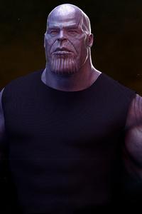 Thanos Holding Tesseract 4k