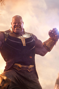 640x1136 Thanos In Avengers Infinity War 2018