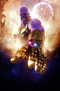 Thanos In Avengers Infinity War Artwork 4k