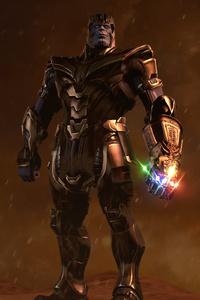 1080x2280 Thanos In Endgame