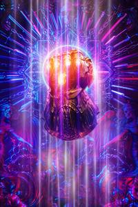 640x1136 Thanos Infinity Gauntlet 2019