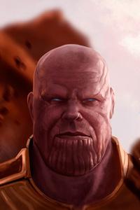 Thanos Infinity Gauntlet 4k