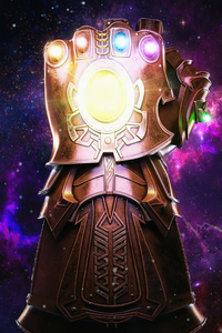 240x400 Thanos Infinity Gauntlet 4k 2020