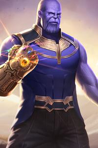 Thanos Infinity Gauntlet Artwork