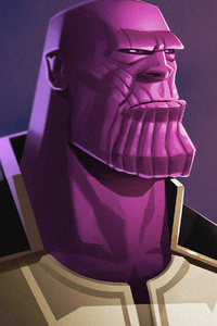 Thanos Infinity War Artwork