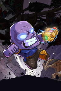 Thanos Little Art