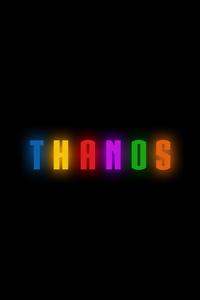 Thanos Logo Artwork