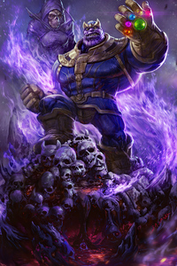 Thanos Mad Titan