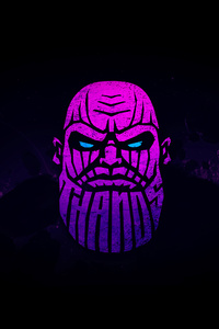 Thanos Minimal Art 4k