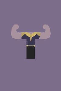 Thanos Minimalism 5k