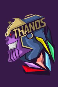 Thanos Minimalism 8k