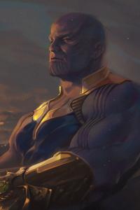 1440x2960 Thanos New 4k Arts