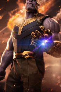 720x1280 Thanos New 4k