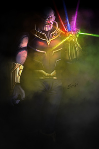 Thanos New Art 4k