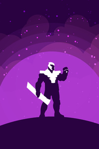 Thanos New Art 8k