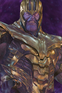 Thanos Newartwork