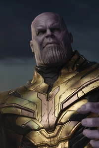 Thanos Ready For Fight 4k