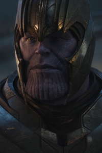 Thanos Ready For Fight