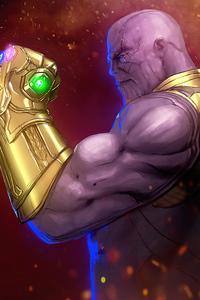 720x1280 Thanos Snap 2020 4k