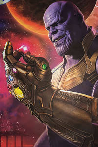 Thanos Snap 4k