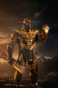 1125x2436 Thanos Supervillain Gauntlet