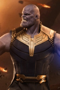 Thanos Supervillain