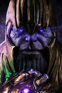 720x1280 Thanos The End Is Near