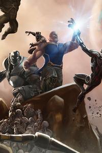 Thanos The Mad Titan 4k