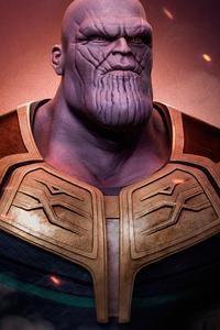 Thanos The Mad Titan Fanart 4k
